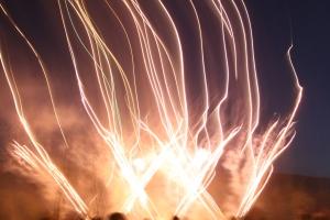 Liam's Marlay Park Fireworks