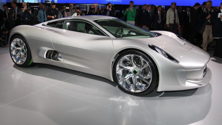 Jaguar cx75 concept