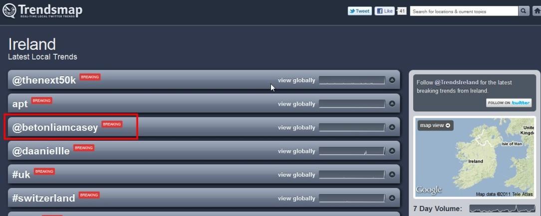 betonliamcasey twitter trending